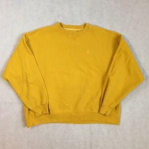Vintage Mustard Yellow Sweatshirt